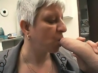 Blowjob European French Mature Mom