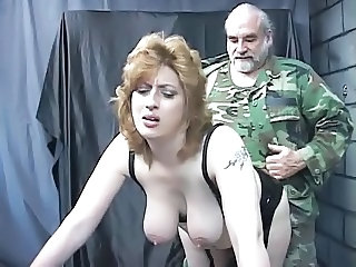 Army Big Tits Daddy  Natural Old and Young Slave Tattoo