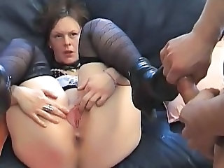 Casting European French  Pussy Stockings