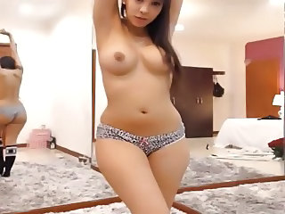 Amazing Cute Latina  Panty Webcam