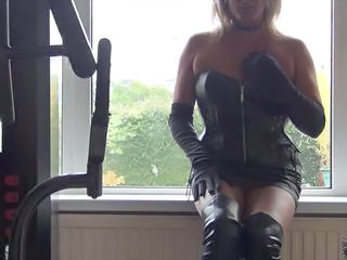 Amateur British Corset European Homemade Latex