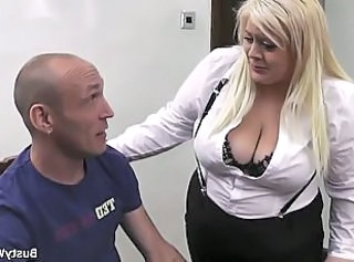 Big Tits Blonde  Secretary