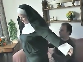 European German Nun Vintage