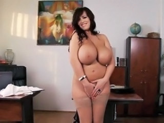 Amazing Big Tits  Pornstar Stockings Teacher Wife