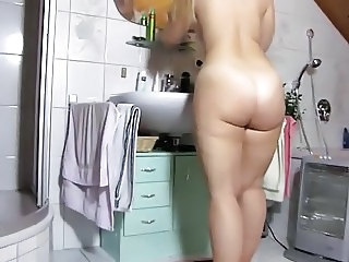 Amazing Ass Bathroom Mature Mom