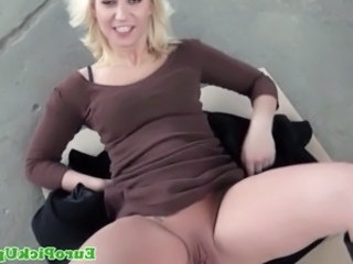 Amateur Blonde Cash Clothed Outdoor Pov Public Pussy Shaved Student