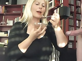 Blonde European Fetish German Mature Mom
