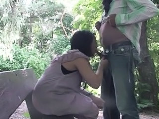 Amateur Blowjob Clothed Outdoor Wife
