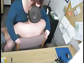 Chubby Clothed HiddenCam  Office Secretary Voyeur