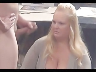 Amateur Blonde Chubby Mature Wife