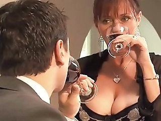 Amazing Big Tits Drunk  Natural Wife