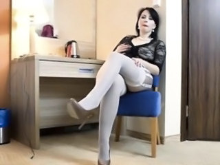 Legs Mature Mom Stockings