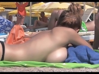 Beach  Outdoor Public Voyeur