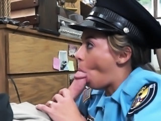 Amateur Blowjob Clothed  Office Uniform