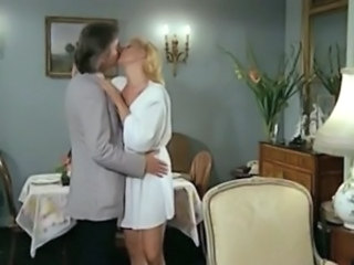 Blonde European French Kissing  Vintage Wife