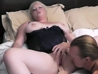 Blonde Chubby Corset Fisting  Piercing