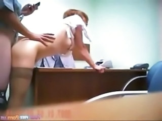 Hardcore HiddenCam  Office Secretary Voyeur