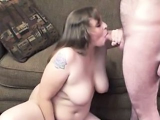 Blowjob Chubby Mature Mom  Tattoo