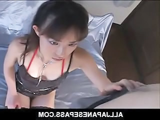 Asian Brunette Handjob Japanese
