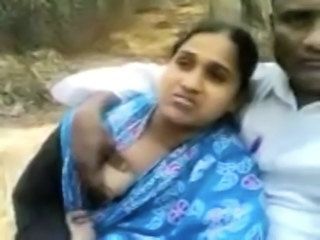 Amateur Indian Outdoor Wife