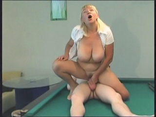 Big Tits Blonde Mature Mom Natural Old and Young Riding Russian