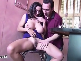 Amazing Big Tits Brunette Hairy  Natural Pornstar Pussy