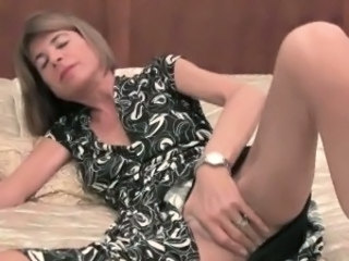 British European Mature Mom Skinny