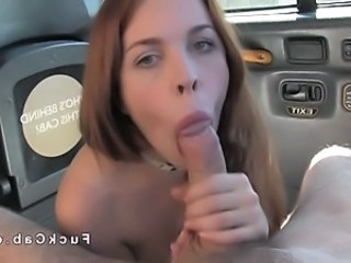 Blowjob Car Cute  Pov Redhead