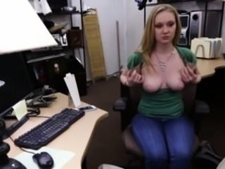 Amateur Blonde Cute  Office