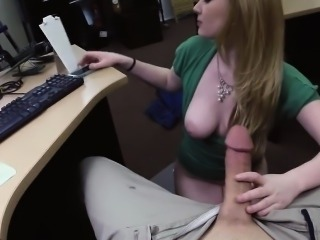 Amateur Amazing  Cute Handjob  Natural Office Pov