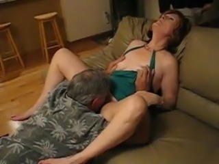 Amateur Clothed Licking Mature Older Wife