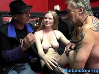Amateur Daddy European  Natural
