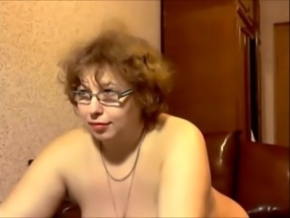 Chubby Glasses Mature Mom Russian Webcam