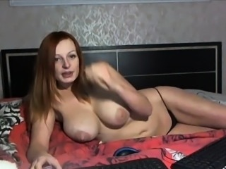 Amazing Big Tits  Natural Nipples Panty Russian Webcam