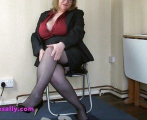 Big Tits Glasses Mature Office Secretary