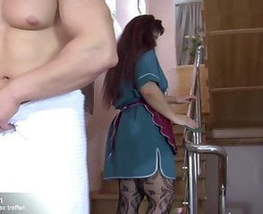 Chubby Maid Mature Russian Stockings