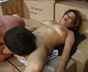 Brunette Hairy Licking Mature