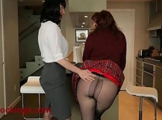 Ass Daughter Lesbian  Mom Old and Young Pantyhose School Teacher Teen