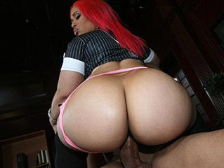 Ass  Ebony Pornstar Riding