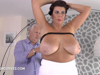 Big Tits British European Mature Natural