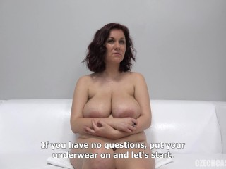 Big Tits Casting Chubby European Mature Natural