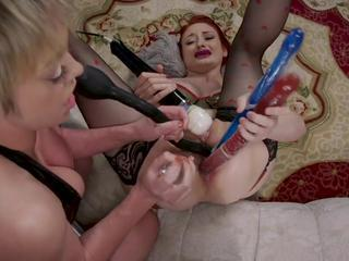 Anal Fisting Hardcore Lesbian Mature Toy