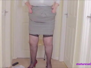 Mature Secretary Skirt