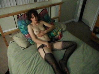 Amateur HiddenCam Masturbating Skinny Wife