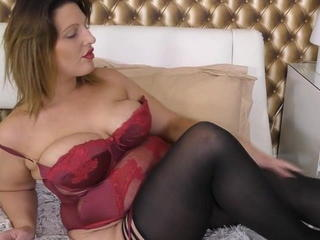 British European Lingerie Stockings Wife