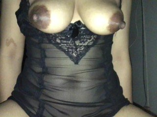 Asian Lingerie Mature Mom Nipples Swallow