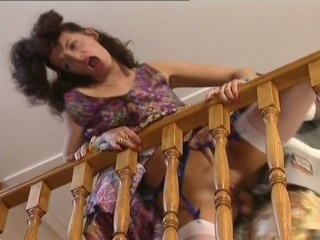 Clothed Doggystyle  Orgasm Stockings
