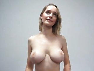 Big Tits Casting  Natural