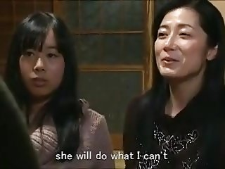 Asian Daughter Japanese Lesbian Mom Old and Young