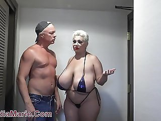 Big Tits Bikini Mature Mom Old and Young